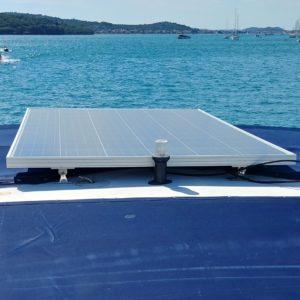 solar Modul Motoryacht Dachmontage Komplettversorgung